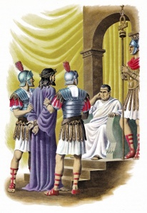 Christ before Pilate